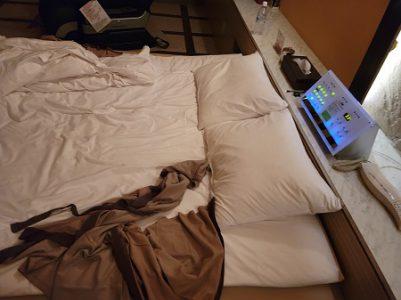 ホテルでの一枚